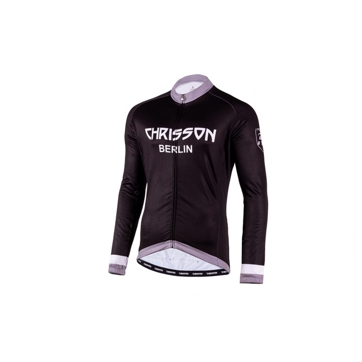 Winter Fahrradtrikot langarm Herren CHRISSON ESSENTIAL