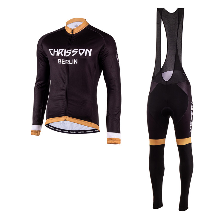 Winter Fahrradtrikot SET Herren CHRISSON ESSENTIAL